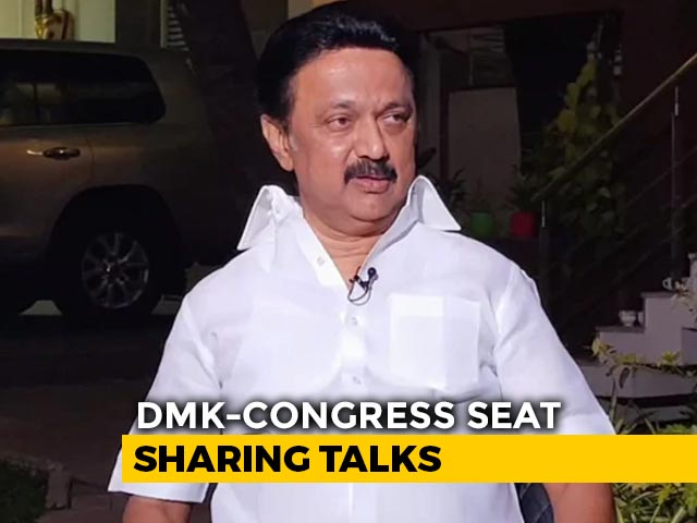 Video : Hiccups In DMK-Congress Seat-Sharing Ahead Of Tamil Nadu Election
