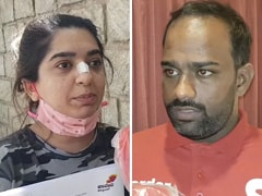 """Never Hit Him"" vs ""She Threw Shoes"": What Woman, Zomato Agent Told NDTV"