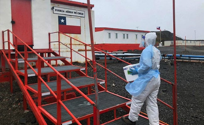 COVID-19 Vaccines Reach Antarctica, Chile Immunizes 49 People On Continent