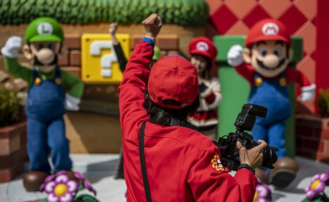 Long-Awaited 'Super Mario' Theme Park Opens In Japan