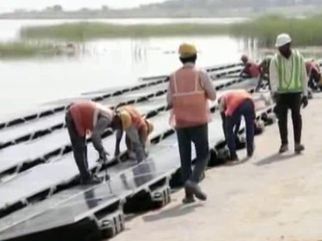 Video : India's Biggest Floating Solar Power Plant To Be Commissioned By May