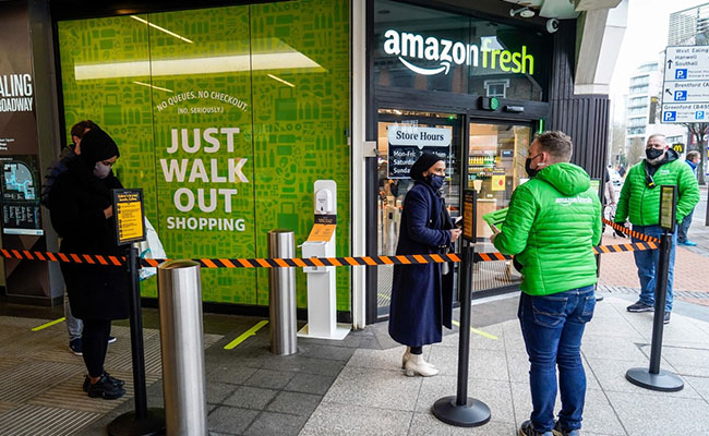 Amazon Opens First Check-Out Free Grocery Store In UK