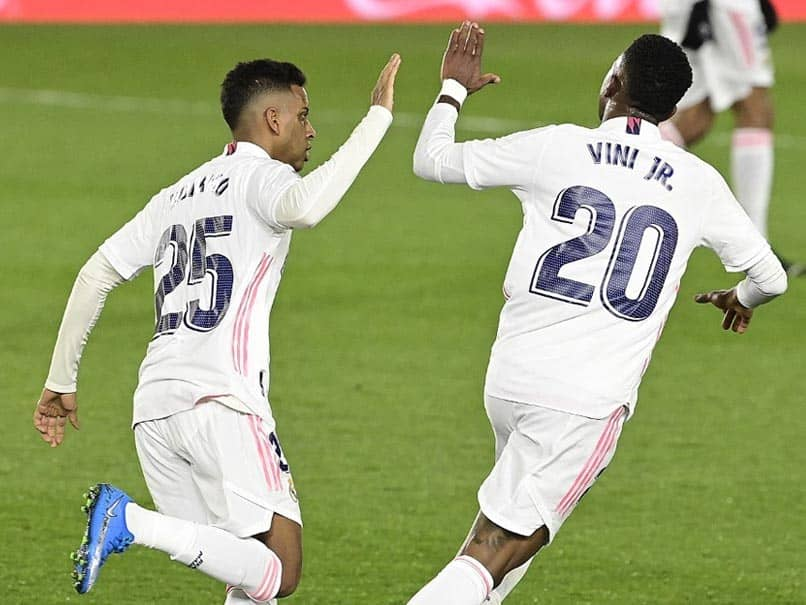Vinicius Late Strike Against Real Sociedad Rescues A Point For Real Madrid