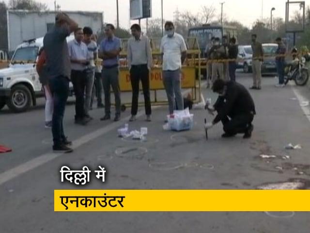 Videos : लेडी 'सिंघम' ने किया एनकाउंटर, दो बदमाशों को पुलिस ने किया गिरफ्तार