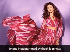 Shilpa Shetty Is All About Pink In A Vibrant Printed Co-Ord Set