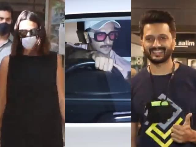 Video : How Ranveer, Riteish, Neha Started The Week
