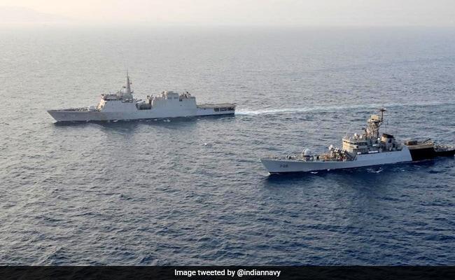 Indian Warships Reach Bangladesh To Mark 50th Anniversary Of 1971 War