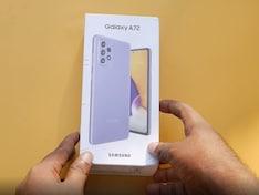 Samsung Galaxy A72 Unboxing & First Look: 8GB रैम और 64MP कैमरा फोन Rs 34,999 में