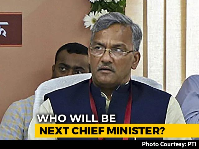Video : BJP Meets To Pick New Uttarakhand Chief Minister Day After TS Rawat Exits