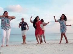 धनाश्री वर्मा को मालदीव के Beach पर चढ़ा डांस का शौक, युजवेंद्र चहल ने बनाया Video