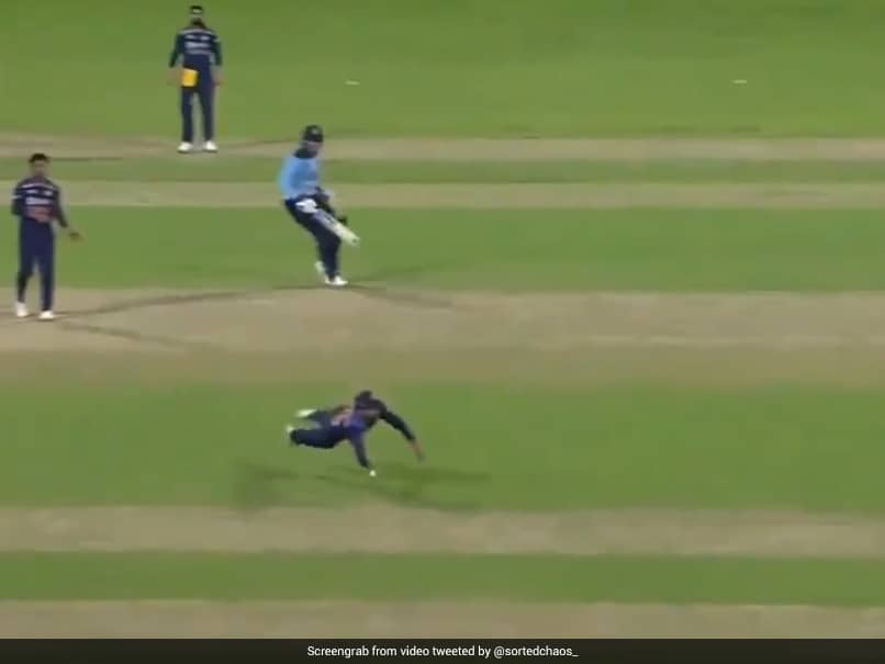 """Watch: Rohit Sharmas """"Fielding Brilliance"""" Gives India First Breakthrough In 2nd ODI vs England"""