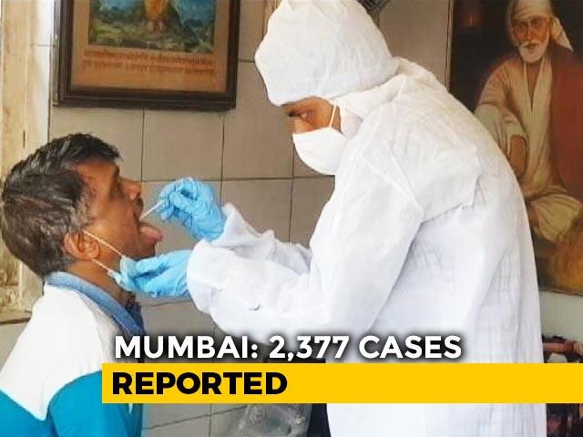 Video : 23,179 Coronavirus Cases In 24 Hours, Highest Since September In Maharashtra