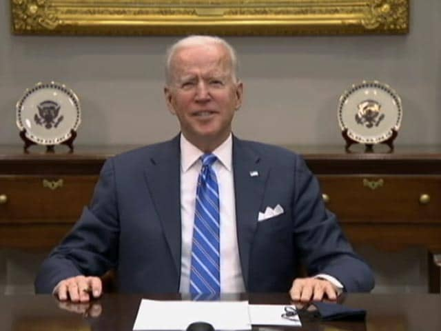 "Video : ""You Kidding Me? What An Honour"": Biden To Indian-American At NASA Meet"