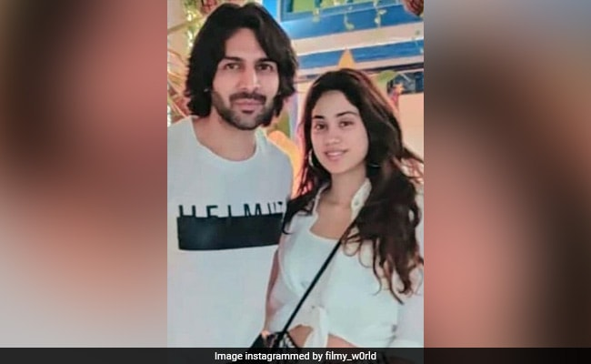 What Janhvi Kapoor Said About Kartik Aaryan's Role In Dostana 2