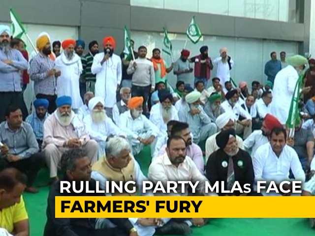 Video : Haryana Trust Vote: Farmers Vent Ire On Winning MLAs', Call For Boycott