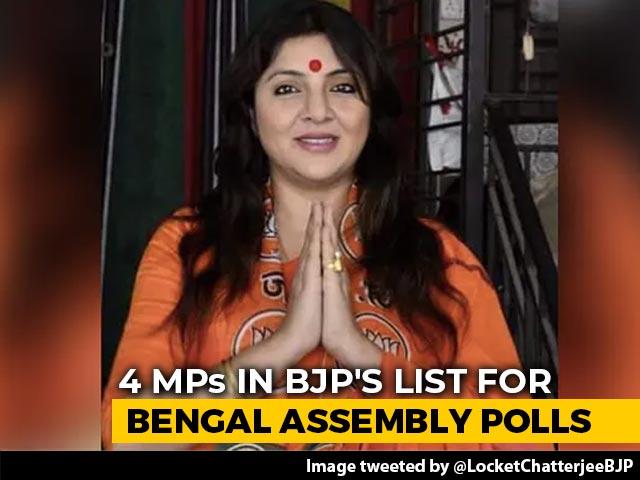 Video : Minister Babul Supriyo, BJP MP Locket Chatterjee Drafted For Bengal Polls