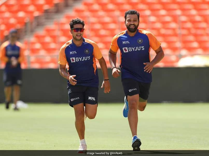 """""""Ringing Pujaras Door Bell And Scampering"""": Rohit Sharma Pulls Cheteshwar Pujaras Leg With Cheeky Caption"""