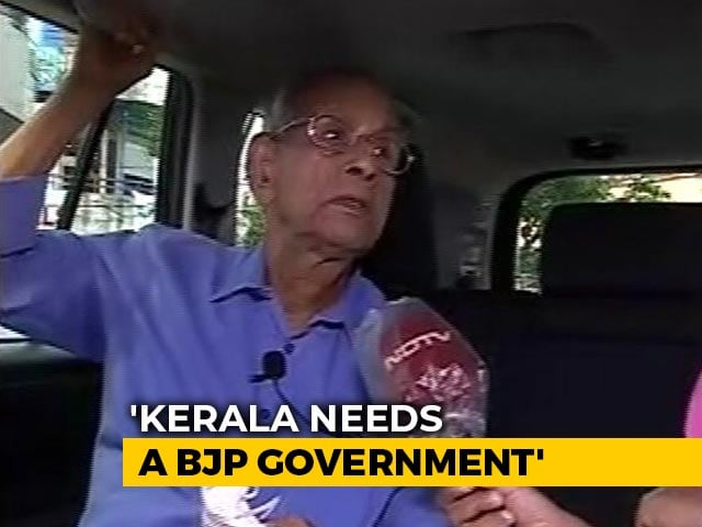 """Video : """"May Not Agree Entirely, But..."""": E Sreedharan On BJP, Plans For Kerala"""
