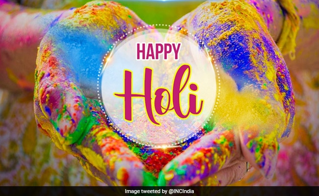 Holi 2021: Twitter Abuzz With Holi Wishes From Leaders Across Parties