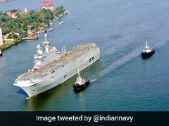 2 French Naval Ships Arrive In India On Goodwill Visit