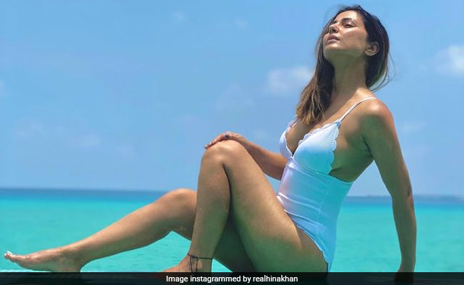 Hina Khan Makes A Splash On Instagram With Pics From Maldives