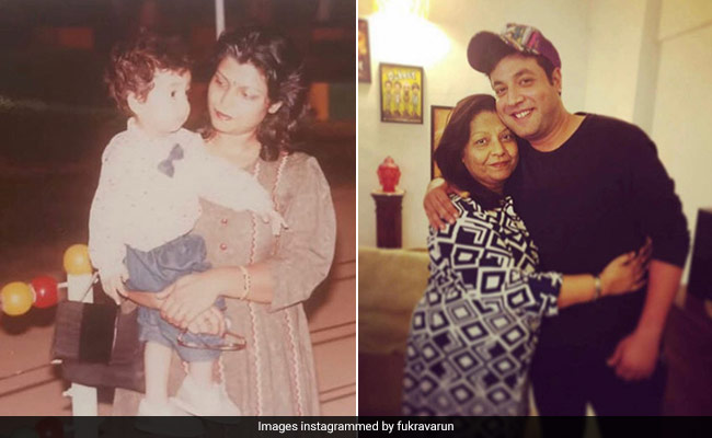 Varun Sharma's Birthday-Special Post For His Mom