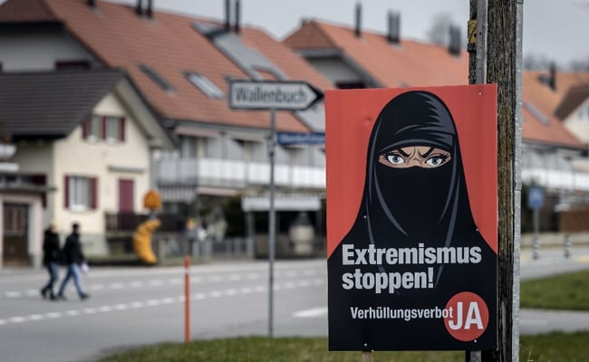 Switzerland Voters On Course To Approve 'Burqa Ban'