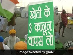 """""""200 Days Of Immense Fight"""": Farmers Group On Protest Against Farm Laws"""