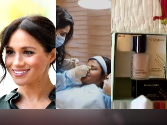 Video : Weekending: Recreating Meghan Markle's Make-Up, Facial Transformation And Beauty Boxes