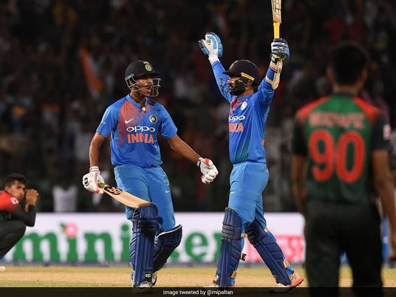 On This Day, Dinesh Karthik Helped India Win The Nidahas Trophy vs Bangladesh