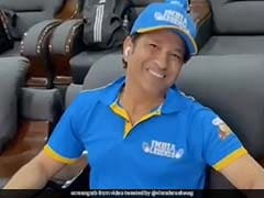 Watch: Virender Sehwag Gives Fans A Sneak Peek Into Sachin Tendulkar's Recovery Ahead Of Next Road Safety World Series Game