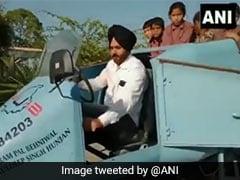 Video: Architect Builds Jet-Shaped Vehicle, Names It 'Punjab Rafale'