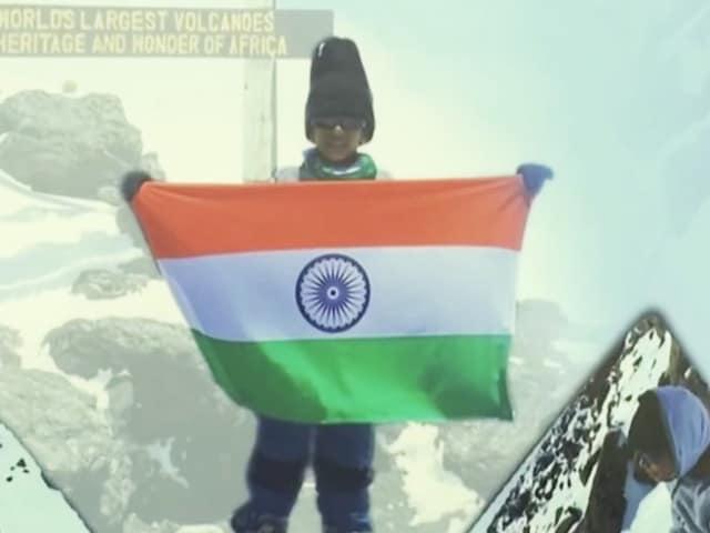 Video : 7-Year-Old Hyderabad Boy Scales Mount Kilimanjaro