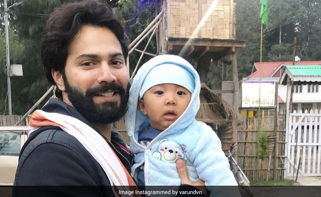 This Pic Of Varun Dhawan With A Baby Will Melt Your Heart