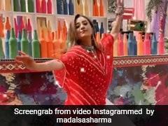 मिथुन चक्रवर्ती की बहू पर चढ़ा 'भांग' का खुमार, फिर यूं जमकर किया 'बलम पिचकारी' पर डांस- देखें Video