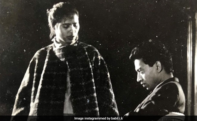 Irrfan Khan And Wife Sutapa Sikdar In Throwback Pic From NSD Days - NDTV