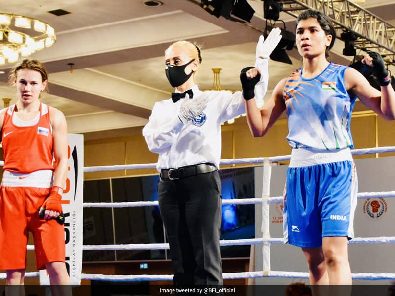 Nikhat Zareen Stuns World Champion Ekaterina Paltceva To Enter Bosphorus Boxing Tournament Quarters