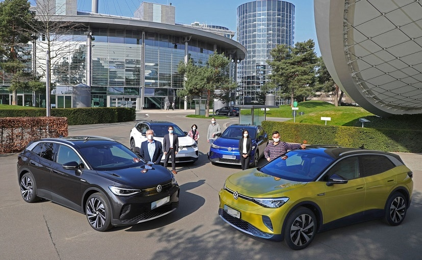First customers collected their cars from Wolfsburg and Dresden