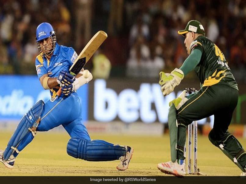 Road Safety World Series: Sachin Tendulkar, Yuvraj Singh Put On Batting Masterclass Against South Africa Legends. Watch