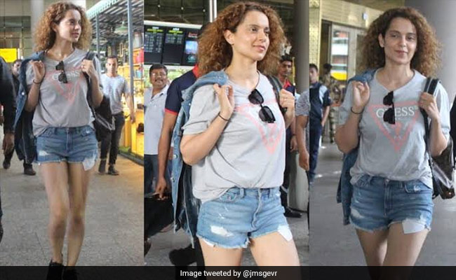 Kangana Ranaut Criticised 'Torn American Jeans', So Twitter Dug Up Her Old Pics