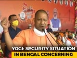 "Video : ""I Want To Tell Mamata <i>Didi</i>..."": Yogi Adityanath's Poll Warning In Bengal"