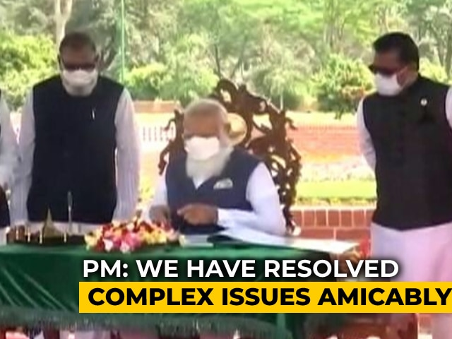 "Video : ""We Resolved Complex Issues Amicably"": PM's Op-Ed As He Begins Bangladesh Visit"