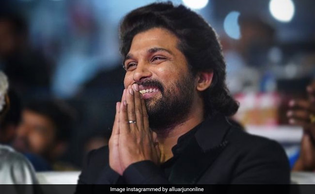 Allu Arjun's Birthday Cake Is As Filmy As It Gets! (See Pics)