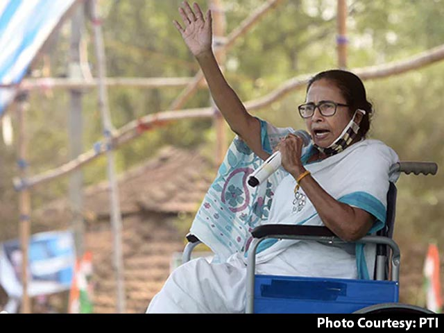"""Video : """"Only Grows Beard, Names Stadium After Himself"""": Mamata Banerjee On PM"""