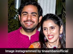 """From Adorable Kids..."": Tina Ambani's Anniversary Wish For Akash, Shloka"