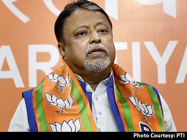 Video : BJP's Mukul Roy Discussed Influencing Poll Body In Leaked Call: Trinamool