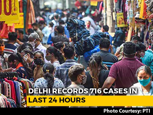 Video : Delhi Records Over 700 Daily Covid Cases For First Time This Year