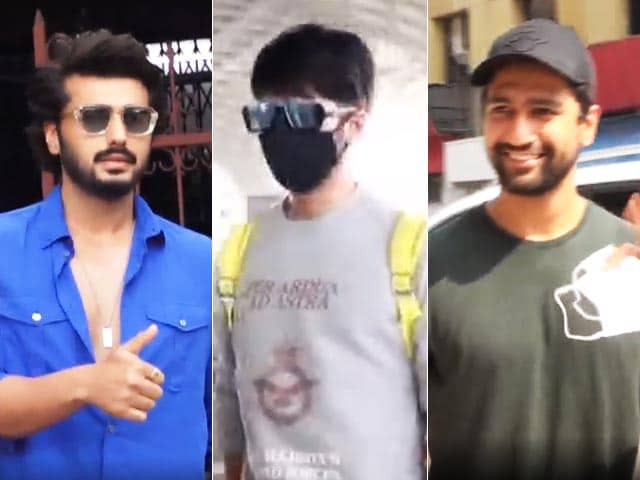 Video : Keeping Up With Shahid Kapoor, Vicky Kaushal And Arjun Kapoor