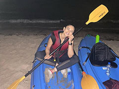 Rakul Preet Singh Had An Adventure Packed Holi. No Colours, Only Trekking And Moonlight Kayaking