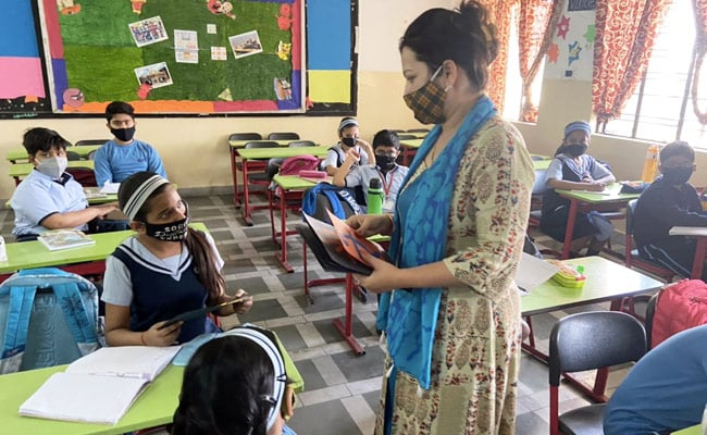 Social Distancing, Sanitisers: UP Primary Schools Reopen With Covid Protocols